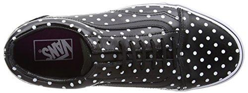 VansOld Skool - Zapatillas De Deporte Para Exterior Unisex adulto Negro - Noir (Polka Dots/Black)