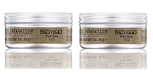 TIGI Bedhead for Men Matte Separation Workable Wax-2.65 oz. (Quantity of 2) (Styling Head Wax)