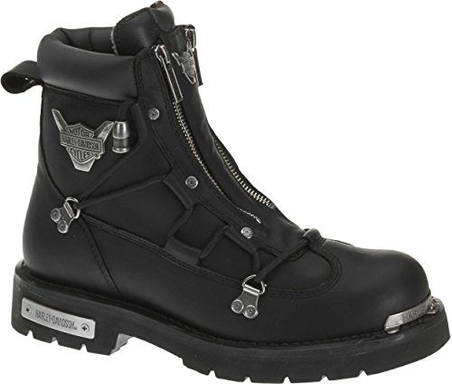 Harley-Davidson Men's Brake Light Riding Boot,Black,8.5 M