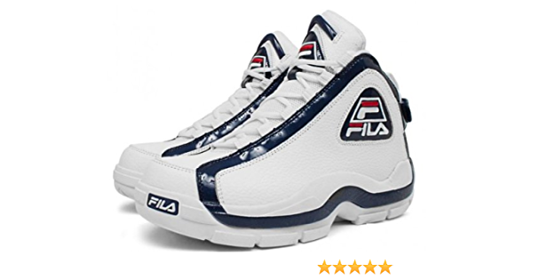 Diploma Parte Álgebra  Amazon.com | Fila 96 Grant Hill 2 (Pistons) White/Peacoat-Chinese Red |  Basketball