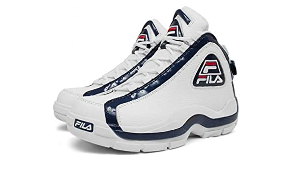 116af02aee Fila 96 Grant Hill 2 (Pistons) White/Peacoat-Chinese Red (12): Amazon.ca:  Shoes & Handbags