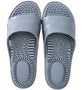 BIKINIV Massage Reflexology Sandals for Better Health Quick Dry Bathroom Shower Slippers with Sho...