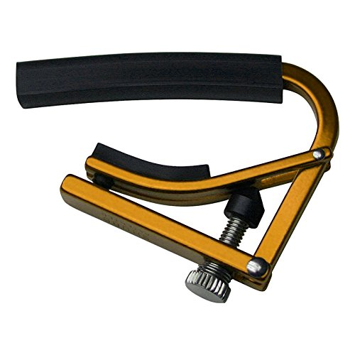 Shubb Lite Series GC-20TLGD (L3GLD) 12 String Guitar Capo - Anodized Gold by Shubb