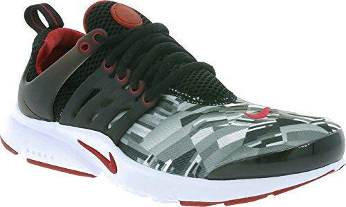 Nike Presto Print Big Kids859596-001 Black/Wolf Grey/White/Gym Red (6y)