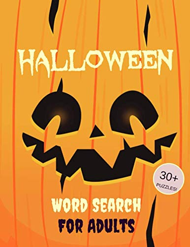 Halloween Word Search For Adults: 30+ Spooky Puzzles