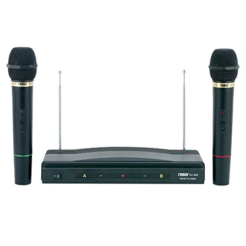 Naxa NAM-984 Professional Dual Wireless Microphone System