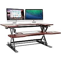 Halter ED-258 Preassembled Height Adjustable Desk Sit / Stand Desk Elevating Desktop