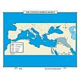 The Ancient World (World History Wall Maps)