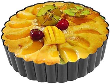 Square Round Brownie Tarte Quiche plaques de cuisson d/'Acier Solide Four moules à gâteaux Boîtes