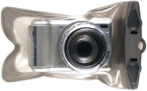 Aquapac Bolsa Estanca Funda Cámara Fotos con Zoom, 23 cm, Gris (Transparente/Gris): Amazon.es: Deportes y aire libre