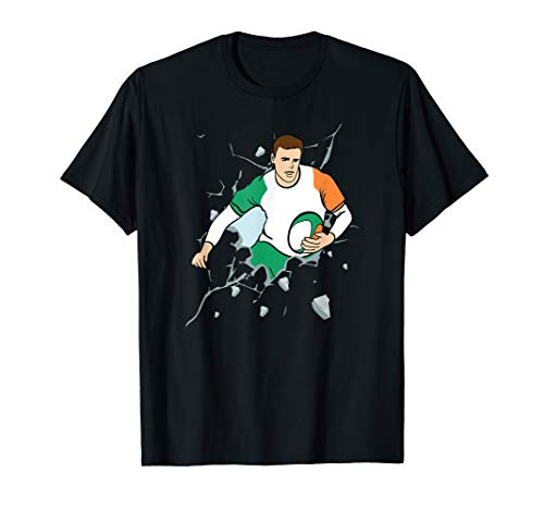 Ireland Rugby Union Jersey 2019 Fans Kit Irish Supporters T-Shirt
