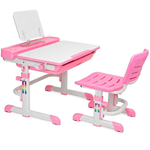 Barton Kids Desk Interactive Work Station Height Adjustable Lead Free