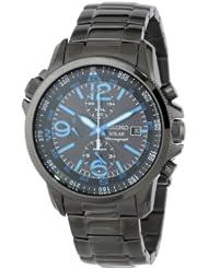 (好价)Seiko 精工SSC079 男士经典光动能手表 Adventure-Solar Classic Watch $199.05