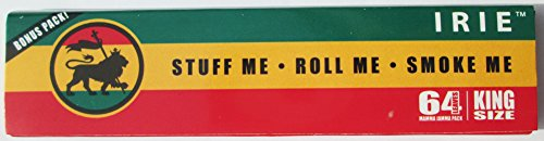Irie Hemp Rolling Papers: King Size - 64 Leaves by Mamma (Custom Rolling Papers)