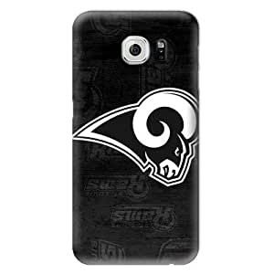 NFL Hard Case For Samsung Galaxy S6,St. Louis Rams Design Protective Phone S6 Covers,Fashion Samsung Cell Case