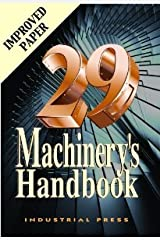 Machinery's Handbook 29th Edition - Toolbox [Hardcover] [2012] 29 Ed. Erik Oberg Hardcover