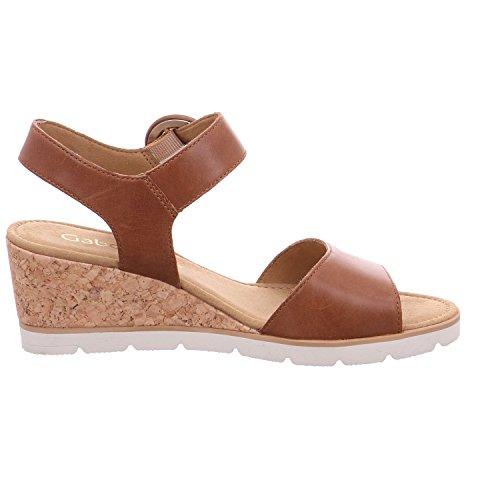 Gabor Ladies Sandalo Con Zeppa Di Arachidi (ohnestrass)