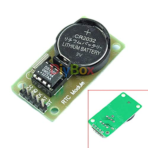 5PCS New RTC DS1302 for Arduino Real Time Clock Module for AVR ARM PIC SMD
