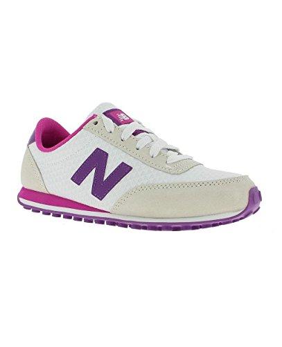 Balance blanc smp D New Donna White Sneaker Ul410 Bianco vTTqzw