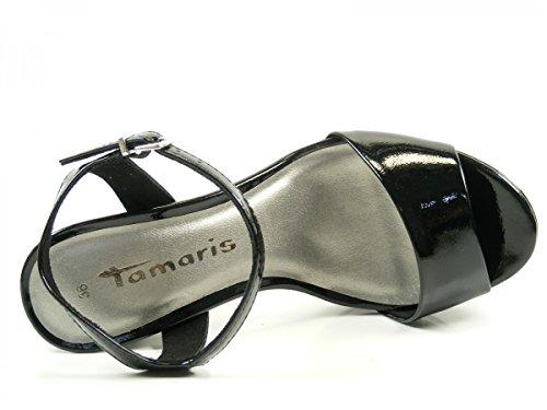 Tamaris 1-28003-38 Sandalias para mujer Schwarz