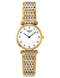 Longines La Grande Classique Diamond Mother of Pearl Two-Tone Steel Ladies Watch L42092877 by Longines