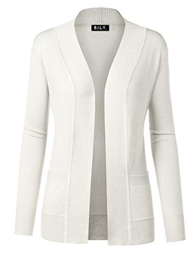 Ivory Cardigan Sweater - 1