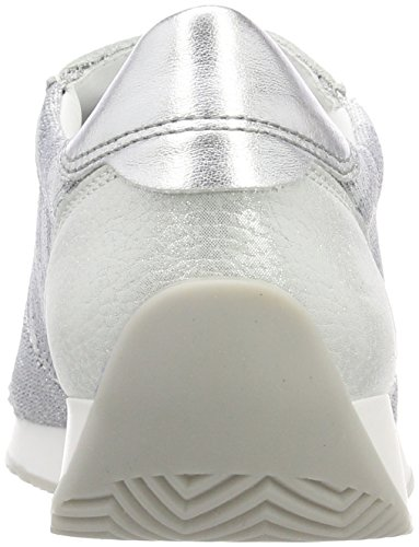 UK 39 Silber 5 Camu Bianco Women's Silver 3 LISSABON UK Trainers ara wfPFq6