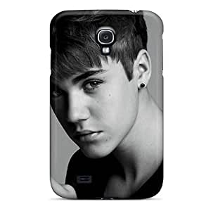 Jeffrehing Perfect Tpu Case For Galaxy S4/ Anti-scratch Protector Case (justin Bieber Gesture Hand Bw)