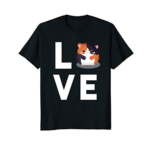 Cute Guinea Pig T-Shirt | I Love Guinea Pigs Shirt Kids Gift