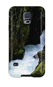 Best 3086946K92157935 Snap-on Case Designed For Galaxy S5- Waterfalls