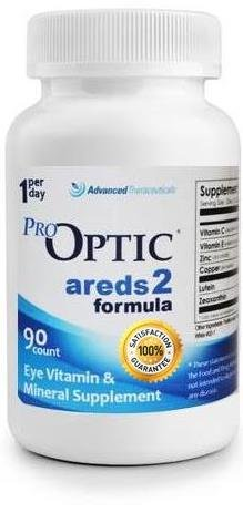 Pro-Optic AREDS 2 Formula (3 Month Supply) 1-Per-Day - Areds Formula