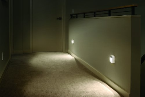 Mr. Beams MB723 Battery-Powered Motion-Sensing LED Stick-Anywhere Nightlight, 3-Pack