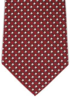 100% Silk Extra Long Tie with Diamond Weave Pattern (Available in 63
