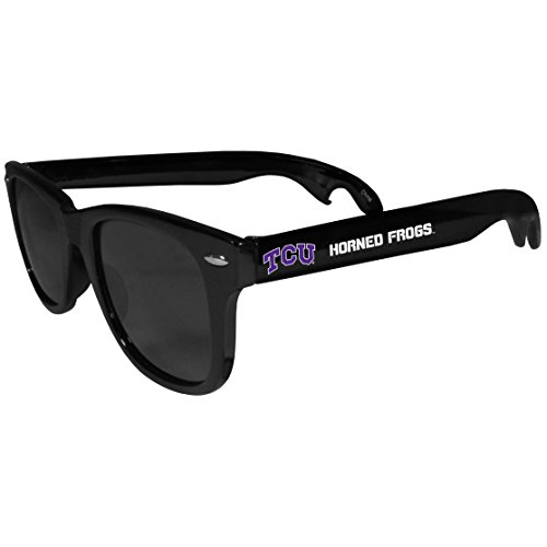 Tcu Horned Frogs Bottle - NCAA TCU Horned Frogs Beachfarer Bottle Opener Sunglasses