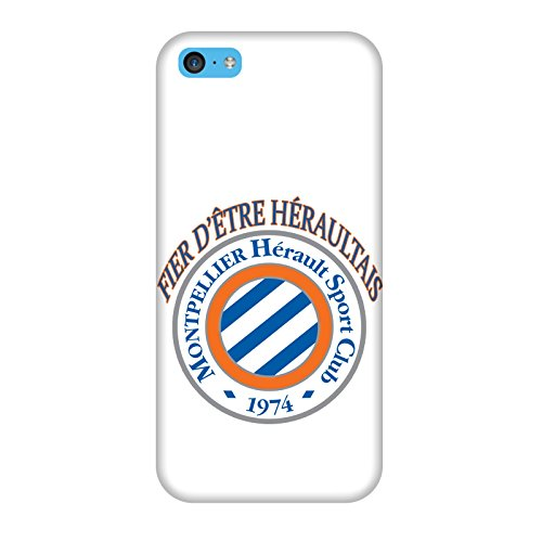 Coque Iphone 5c - Supporter Football Montpellier
