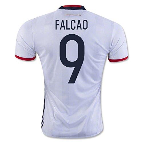 2016-17 Colombia Home Football Soccer T-Shirt Camiseta (Radamel Falcao 9): Amazon.es: Deportes y aire libre