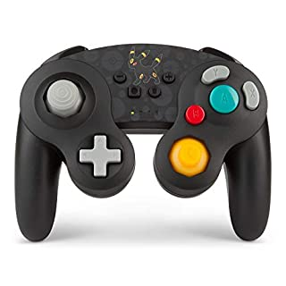 PowerA Pokemon Enhanced Wireless GameCube Style Controller for Nintendo Switch - Umbreon
