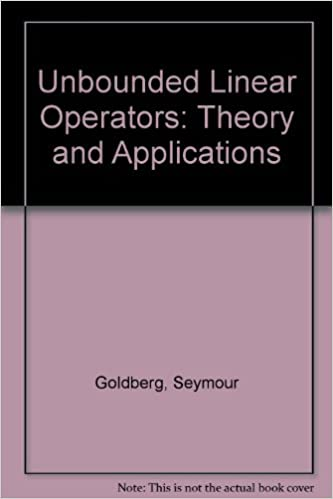 Ebooks Android scarica pdf gratuito Unbounded Linear Operators; Theory and Applications PDF CHM ePub B001GNQYNC