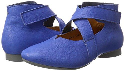 84 kombi Bout kombi Fermé Think Jeans jeans Femme Ballerines Guad 84 Bleu xwEq8f0
