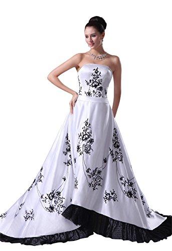 inverted triangle wedding dress - 4