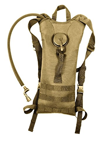 (3 Liter Hydration Systems W/Backstrap Polyester Molle Compatible Water)
