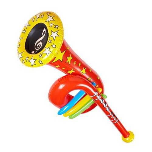 Trompeta Tuba Jacqueline Milton hinchable Multicolor Fiesta ...