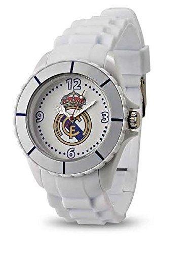 Licencia oficial Original Real Madrid analógico reloj de pulsera para niños - Oficial de Real Madrid Fan Artículo: Amazon.es: Relojes