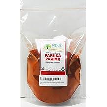 Indus Organics Paprika Powder, 1 Lb Bag, Premium Grade, High Purity, Freshly Packed