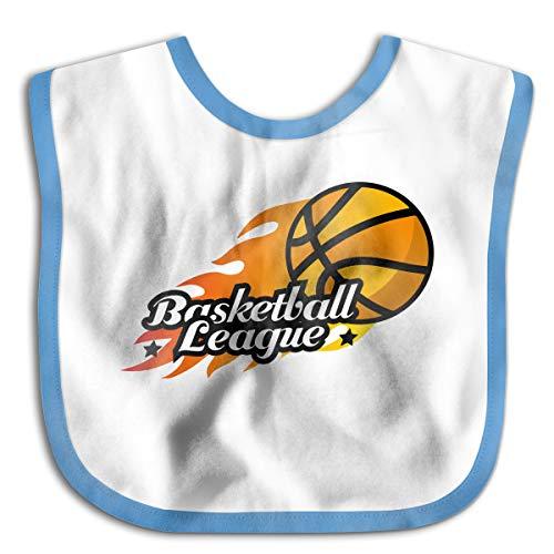 Children's Waterproof Bibs Basketball Court Basket League Baby Skin Wrap SuperBib Babies&Toddlers -