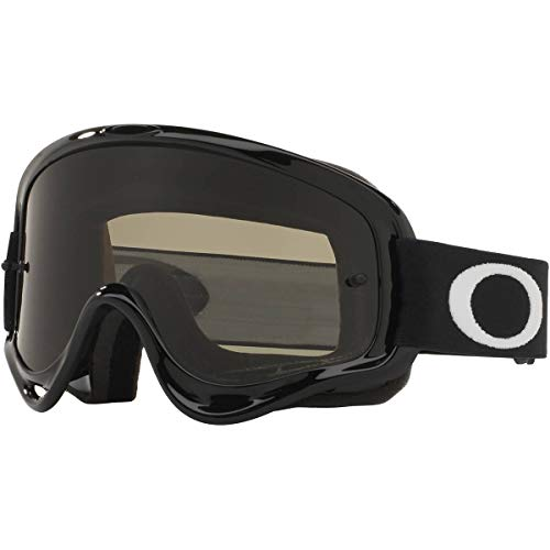 Oakley XS O Frame MX Youth Off-Road Motorcycle Goggles - Jet Black/Dark Grey & Clear