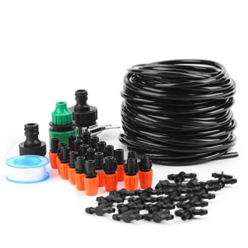 Micro Flow Drip Watering Kit Micro Drip Kit Greenhouse Watering System Irrigation System Misting Automatic Sprinkler System Plant Watering - ()