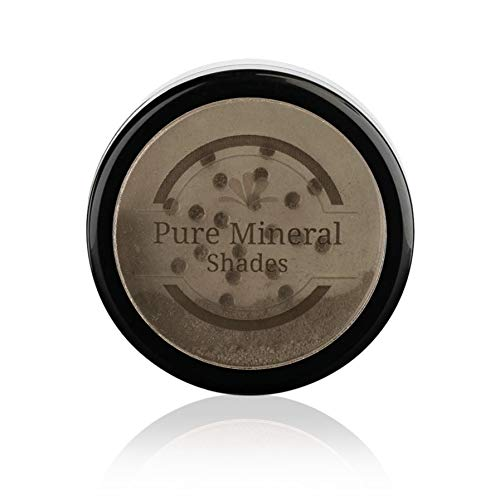 Root Concealer Touch Up Powder | All-Natural Crushed Minerals With Brush | Fast and Easy Total Gray Hair Cover up For Black | Brown | Auburn and Blonde Hair .32 ounce (Darkest Brown)