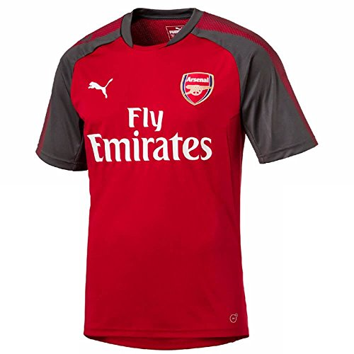 (PUMA Arsenal Training Jersey 2017/18 (Red)-Large Adults)