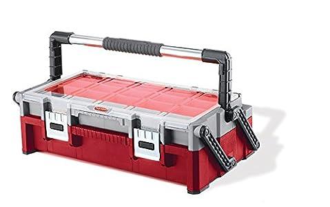 Keter 221484 Boîte à outils organisateur duo 57 cm